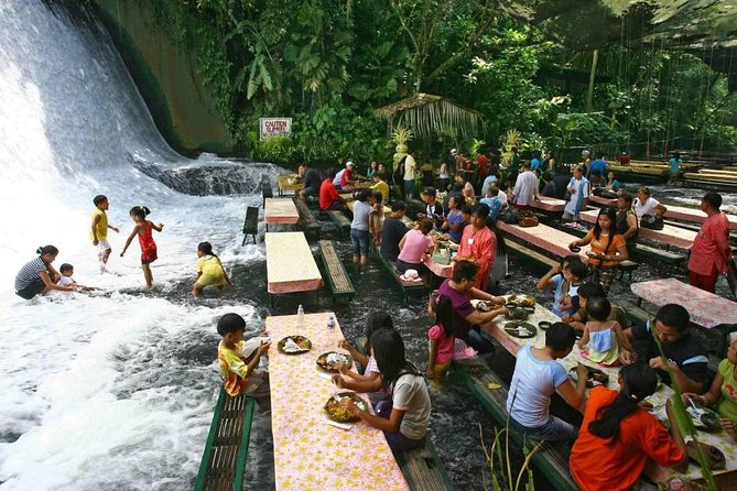 The Villa Escudero Resort of San Pablo City in the Philippines offers a one of a kind experience for guests to get up close and personal with a roaring waterfall while enjoying lunch. Tour also includes entrance fees and pickup service from Manila and Makati hotels.<br><br>Experience thePhilippine heritage like never before. Walk through museum which houses one of the country's largest private collections of world antiquities. Enjoy the Philippine Experience Show and watch the country's cultural legacy come to life. <br><br>Paddle a native bamboo raft on still waters of the river. Explore our lush surroundings and see many resident bird species along the way. Or take a dip in our pool and relax.Tour also includes entrance fees and pickup service from Manila and Makati hotels.