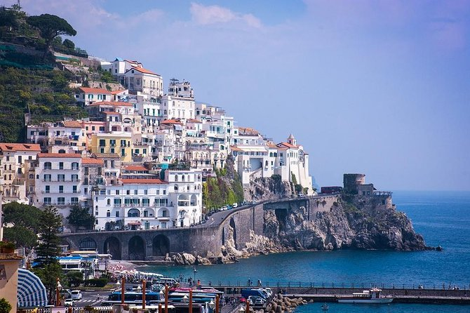 Private 8-hour Excursion from Naples Cruise Port or City Hotel to Amalfi Coast, Napoles, ITALIA