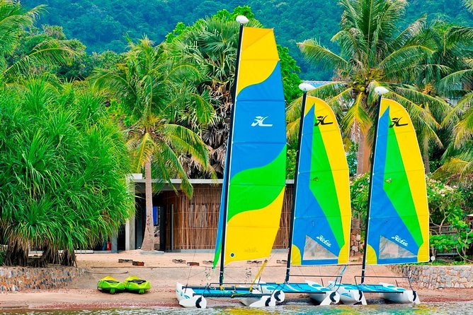 Sailing is an absolute joy by harnessing the power of the wind to propel the boat forward. Learn how to sail either an optimist or a Hobie Catamaran. Our RYA trained instructor can teach you all you need to know to sail singly handed safely. This part two of 2 beginners courses. Starting from scratch, our instructors will teach you the basics. With some land based theory and lots of practical practice. You can learn the beautiful art of sailing. Our Sailing Club is the only one in Cambodia that is associated to the Cambodian Sailing Federation. The waters warm with very few hazards. Our internationally trained Lead instructor has several years of training others under his belt. We have a well maintained fleet of fun and challenge vessels to learn on. We are the only sailing school on the coast of Cambodia.