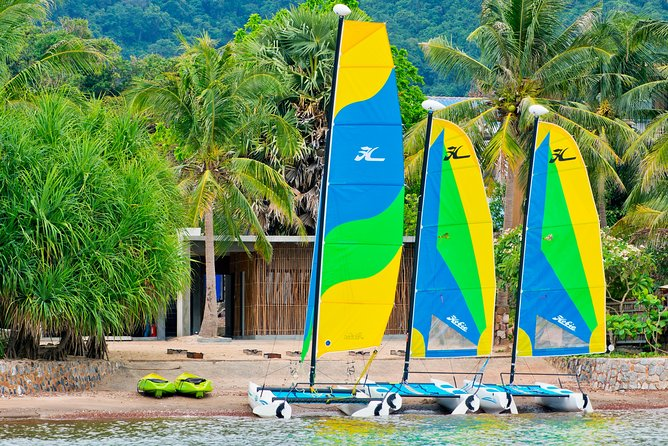 Sailing is an absolute joy by harnessing the power of the wind to propel the boat forward. Learn how to sail either an optimist or a Hobie Catamaran. Our RYA trained instructor can teach you all you need to know to sail singly handed safely.This is part one of two intermediate courses available. Starting from scratch, our instructors will teach you the basics. With some land based theory and lots of practical practice. You can learn the beautiful art of sailing. Our Sailing Club is the only one in Cambodia that is associated to the Cambodian Sailing Federation. The waters warm with very few hazards. Our internationally trained Lead instructor has several years of training others under his belt. We have a well maintained fleet of fun and challenge vessels to learn on. We are the only sailing school on the coast of Cambodia.