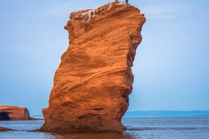 This tour offers a smaller group experience than the cruise lines at a better price. If you have ever wanted to see the highest tides in the world, mixed in with the historical nature of the quaint fishing villages then this is the best way to spend your time ashore in new Brunswick. Don't forget to visit the wave-carved sea caves in the sandstone cliff if the tide is low enough to allow access while you're there. It is a photographer's delight! There will also be an opportunity to purchase a mug of world-famous seafood chowder.<br><br>You also get to see the oldest farmers market in Canada in the old city part of the tour, dating back to 1876. This is a tour to make your time ashore a memorable one.