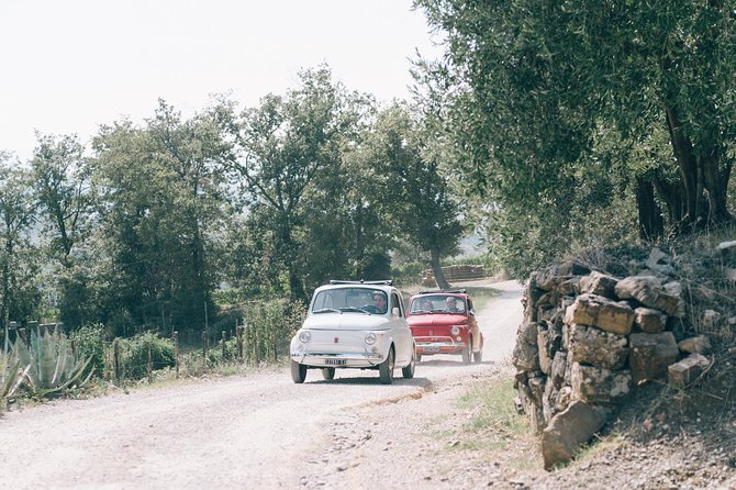 Private Vintage 500 Fiat tour in Tuscany, Siena, ITALIA