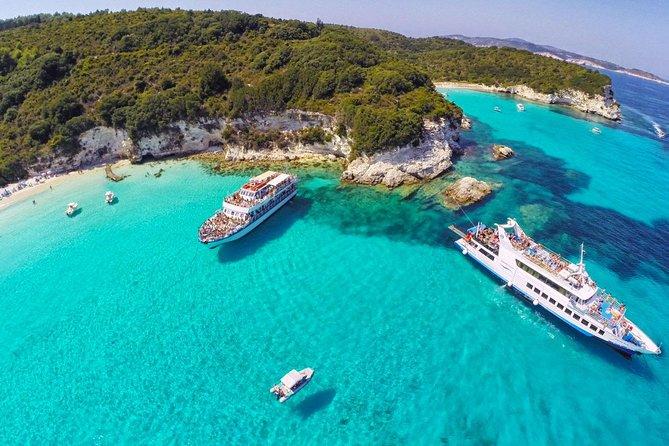 Paxos Antipaxos Blue Caves Day Tour, Corfu, Grécia
