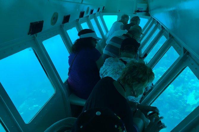 Shore Excursion: Half-Day Glass Bottom Boat Tour with Monkey /Sloths Hang-out, Roatan, HONDURAS
