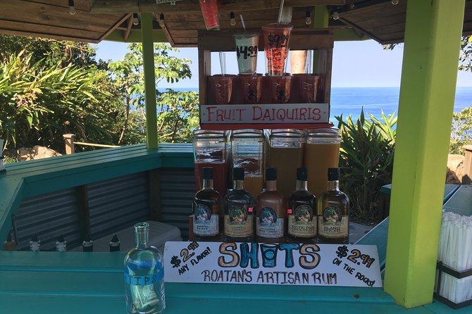 Shore Excursion:Roatan Best Local Food Chocolate/Rum Tasting City tour and Beach, Roatan, HONDURAS