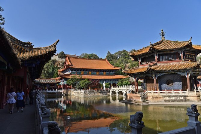 For thisclassic tour , you will visit the most famousscenic spotof Kunming such asBamboo Temple in the West part of Kunming. It is famous for the clay statuesof 500 Arhat ;Golden Temple which is heaviestBronze Temple in China. Yuantong Temple, it isone of thegrandest as well as the most important Buddhist temple in Yunnan Province .Round trip transfer to hotel an lunch , entrance fee is including of the tour.<br><br>