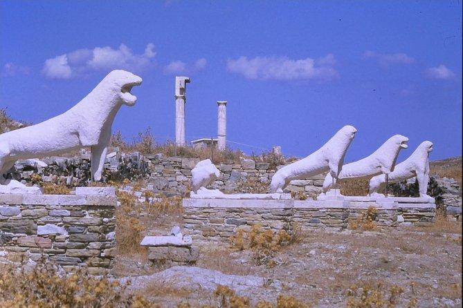 DELOS, the island of god Apollo, Miconos, Grécia