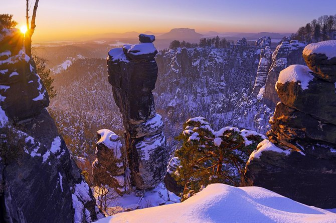 Winter Fairytale The BEST of Bohemian & Saxon Switzerland Hiking Tour, Praga, REPUBLICA CHECA