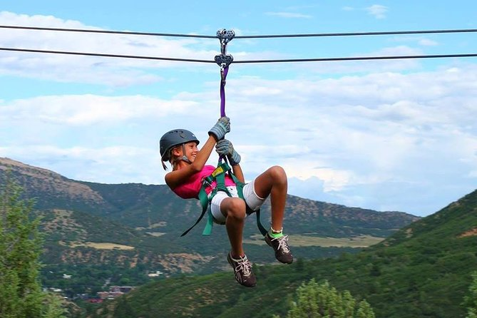 You will ride 12 different ziplines, that include our longest and fastest ziplines, PLUS a tree top to tree top experience! This tour is approximately a 2.5-3 hour zipline adventure. The final zip which lands on the deck of our roof top patio, or, a 40 foot freefall from our giant tower!