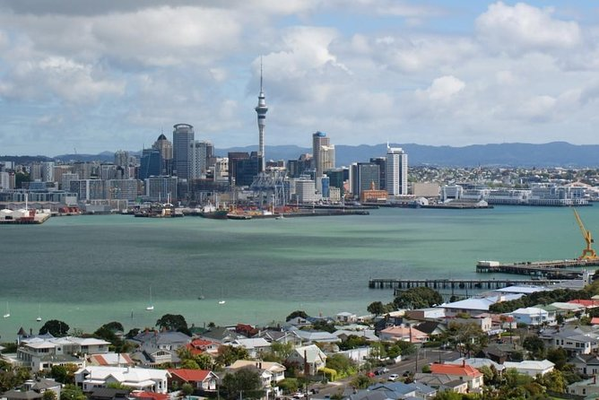 This private 5-hour tour explores Auckland, a vibrant city on the North Island. A personal guide introduces you to the highlights in the 'City of Sails' and its surroundings. View Rangitoto Island from Mission Bay and Waitemata Harbour from M.J. Memorial Park. Stroll atop Mt. Eden, the black-sand beach of Karekare, and through a subtropical rainforest in the  Waitakere Ranges.