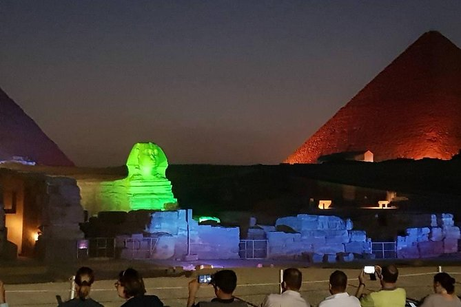 sound and light spectacular show at Giza pyramids with dinner, Guiza, EGIPTO