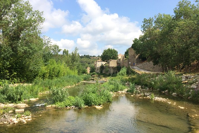 Day Tour to Lagrasse village and Fontfroide Abbey. From Carcassonne., Carcasona, FRANCIA