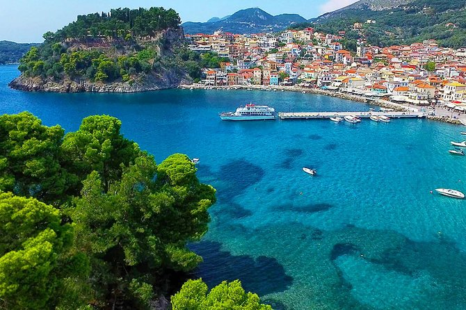 Parga & Sivota Islands Blue Lagoon Cruise with BBQ, Corfu, Grécia