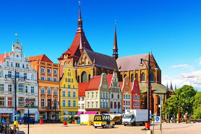 If you are docking in the port of Warnemünde and Rostock and do not want to travel far for your shore excursion, this leisurely bus & walking tour of Rostock will be ideal for you!<br><br>This tour starts in the afternoon with a panoramic bus tour, followed by a walking tour of the city center and a visit to a lovely waterfront cafe. After you enjoy an included drink and a selection of pralines, we will whisk you back onto your ship right in time for dinner! <br><br>If you want to enjoy this experience with your own private driver and guide, you can upgrade to a private tour.