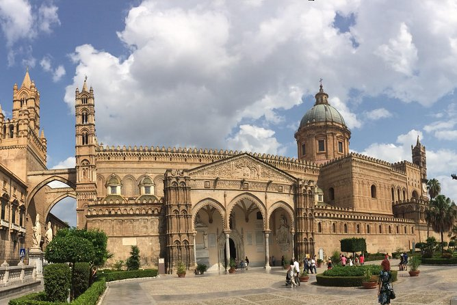 During this tour you will be able to visit the most beautiful and important monuments and churches of the city of Palermo and Monreale and Mondello, you will be left near them, your personal driver on the way will give you explanations and will wait for you near the monuments. You will travel in comfortable vans or Licensed Cars, which will get close to the monuments, so you won't walk much. It will be the best way to visit without stress, and comfortably.<br>Note:this tour is managed only with a Driver-Escort up to 7/8 people. The Driver Escort is not an authorized tourist guide. Authorized tourist guide: they are the only professionals, , authorized to conduct visits and tours in all sites. The Driver Escort cannot escort people inside the monuments because this is not allowed by Italian law. However, it has the skills to promote the most important highlights by providing basic historical and cultural information. the price of this tour does not include admission fees, food and drinks<br>