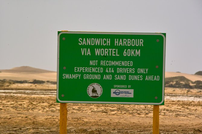 Sandwich Harbour Guided, Self-Drive Tour, Walvis Bay, Namibia