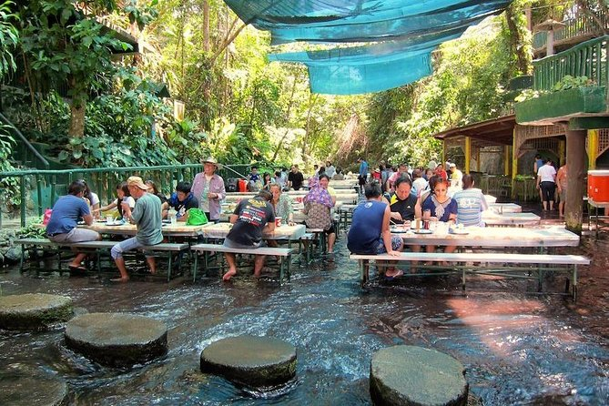 The Villa Escudero Resort of San Pablo City in the Philippines offers a one of a kind experience for guests to get up close and personal with a roaring waterfall while enjoying lunch. Tour also includes entrance fees and pickup service from Manila and Makati hotels.