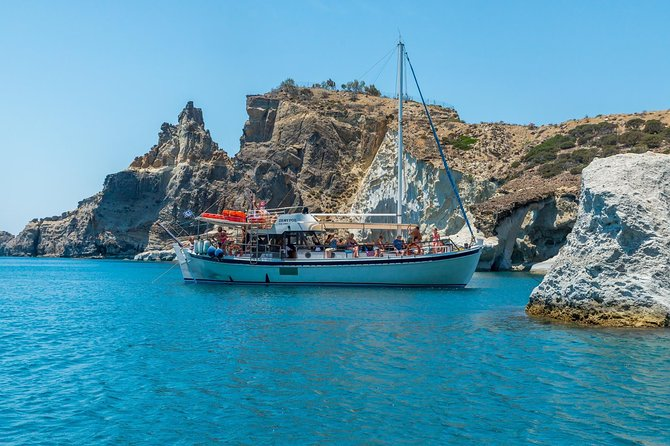 Boat tour to Kleftiko from Milos, Milos, Greece