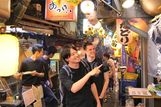 -Discover the Hidden Food Alleys and Bars in Shinjuku-<br>Our tour guide will take you around the lively food alley in Shinjuku, one of the biggest nightlife districts in Tokyo. Small traditional izakaya bars and food stalls grill fresh chickens, seafoods, and vegetables.<br><br>-Pub Crawl through More Local Bars in Kabukicho-<br>After visiting the first bar, we'll be hopping to 2 more bars in Kabukicho and Shinjuku 3-chome areas. These izakaya bars in nightlife district also get pretty crowded with local office workers, drinking with their co-workers after work at the tiny bars there at night.<br><br>-Immerse Yourself in Japanese Drinking Culture at Night in Tokyo!-<br>Expect a Lot of Interactions with Locals in our Small-group Pub Crawl Night Tour! Break through cultural & language barriers.<br><br>Magical Trip is a local tour operator with the TripAdvisor certificate of excellence that offers various types of small-group tours throughout Japan! Check out our Trip Advisor Page for more tours and our reviews!
