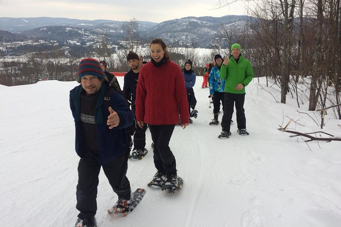 Our Fire Man guided snowshoe tour offers you the opportunity to discover a quieter side of Mont-Tremblant, as our entertaining and knowledgeable guide takes you through forest trails and up to beautiful view points. You'll have the chance to see wildlife such as deer as well as bear and porcupine tracks.