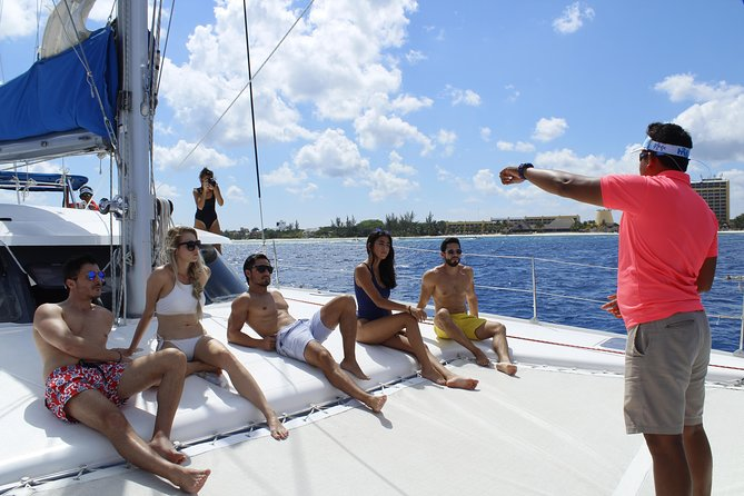 Cozumel Catamaran Sail and Snorkel with Open bar & Lunch, Cozumel, Mexico