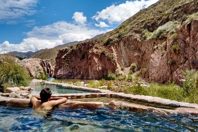 Termas Cacheuta, full day at the hot spring spa, Mendoza, ARGENTINA