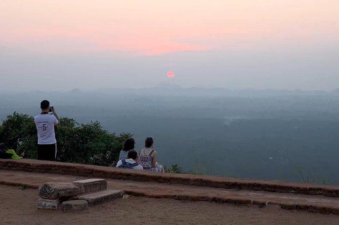 Lions Rock Sigiriya From Kandy, Anuradhapura, Sri Lanka