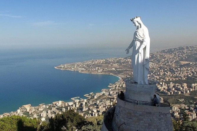 Full-Day Private Tour to Jeita Grotto, Harissa And Baatara Waterfall, Beirut, Líbano