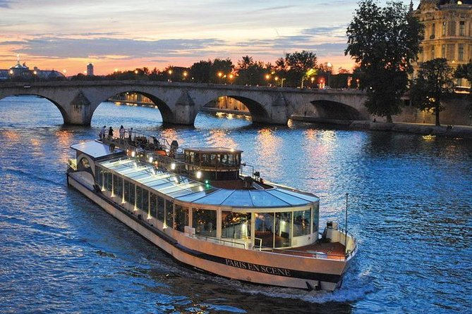 Seine River Bistro-Style Dinner & Sightseeing Cruise on board Paris en Scene, Paris, FRANCIA