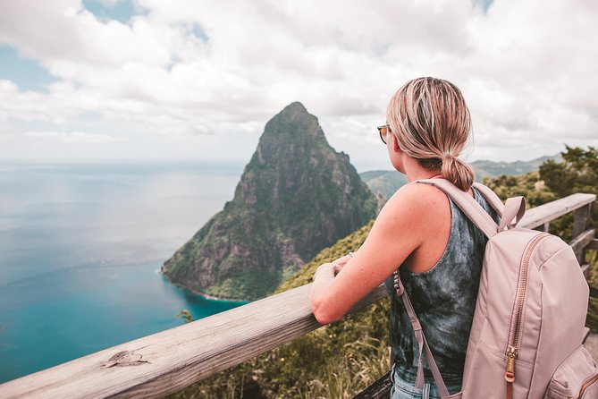 Whether you have just one day and want to see as much as possible or you are here for a while and want to get your bearings, our St. Lucia In A Day Tour has got you covered. We'll hit the iconic sites, and the off the beaten path hidden gems and we will do it by car and foot the way real St. Lucian's do it everyday. You will see The Pitons, Volcano, Sulphure Springs, Waterfalls, Mudbath, and so much more.