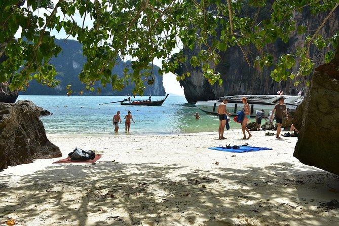 Visita a la Isla de Hong en barco de cola larga con buceo y opción de kayak, Krabi, TAILANDIA