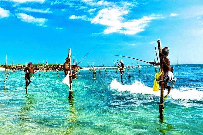 4 Days Guided Tours in Sri Lanka For 5 Passengers Group. Galle, Mirrissa & Yala, Parque Nacional Yala, SRI LANKA