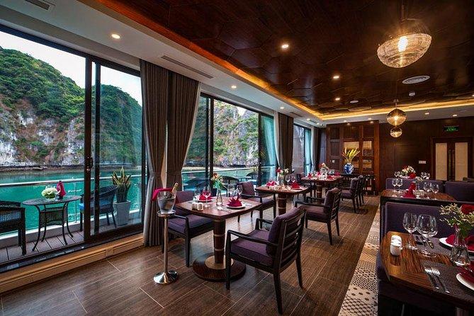 6 stars All-Inclusive 2d/1n-ultra luxury cruise style-cruising LIKE A BOSS, Halong Bay, VIETNAM
