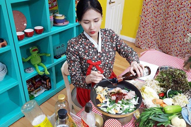 Korean Cooking Class with Full-Course Meal & Local Market Tour, Seul, COREA DEL SUR