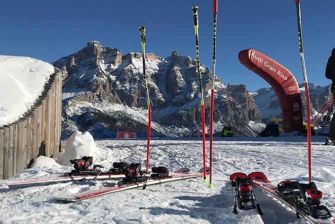 dolomiti ski tour with a professional local ski instructor