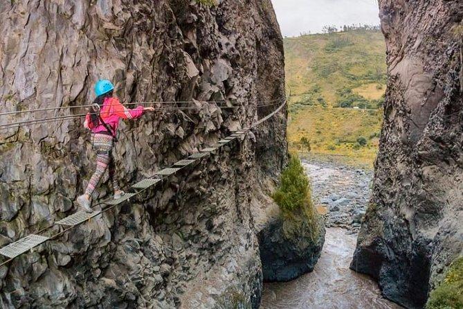 MÁS FOTOS, Canopy, Puente Tibetano, Vía Ferrata Y Tarabita 4 En 1 - En Un Dia