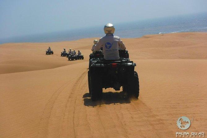 Half day quad biking: Big dunes and forest, Esauira, Morocco