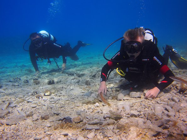 Almost everywhere Try Scuba Dive is done in large groups and with duration of max 30min.<br><br>Before that often you will travel for 1 hour on overcrowded boat and wait for your turn to go underwater even longer, mostly in thin shorty suit. It is experience with questionable quality as you can see on many reviews online. <br><br>With us you can be sure to go in the water with only one more diver, (Instructor and max 2 divers) and to stay underwater for minimum 45min.<br><br>It is private activity, it is tailored like that to lower stress for first time divers and to provide maximum safety.<br>You will get your timeline that suits you in advance and meet us in the Diving Center exactly at the beach. Dive is done right there, literally 5 meter from our Dive Center on great location that we proudly call our Home Reef and that is also regularly visited from other dive centres.<br><br>In 2 days after the dive Google Drive link will be sent to you with all your photos and videos.<br><br>And yes, you will love it :)<br>