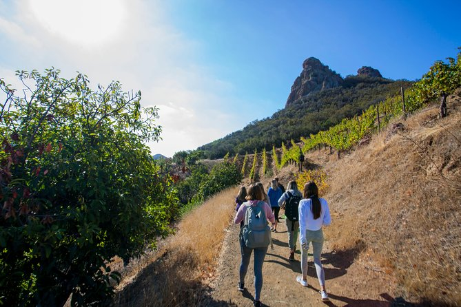 Malibu Wine Hikes is the only place that combines outdoor activity on a private estate that is home to exotic animals and amazing wine.