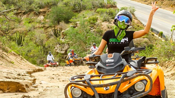 Candelaria Beach and Desert 4x4 ATV Tour, Los Cabos, Mexico