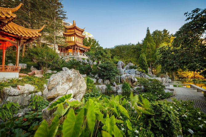You'll spend a day exploring secluded garden—Darling Harbour's Chinese Garden of Friendship . Join our team and feed the magnificent koi at 11.30am daily or join one of three daily tours and learn about the history, landscape and cultural heritage of the Chinese Garden.<br><br>Chinese Garden Highlights Tour - 10.30am daily (duration: 35 mins)<br><br>Plants in a Living Landscape Tour - 11.45am daily (duration: 45 mins)<br><br>Rocks in a Living Landscape Tour - 2.30pm daily (duration: 35 mins)<br>