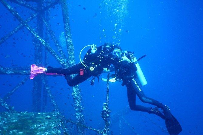 Buceo por los restos del naufragio del HTMS Chang más dos inmersiones en el arrecife, Ko Chang, TAILANDIA