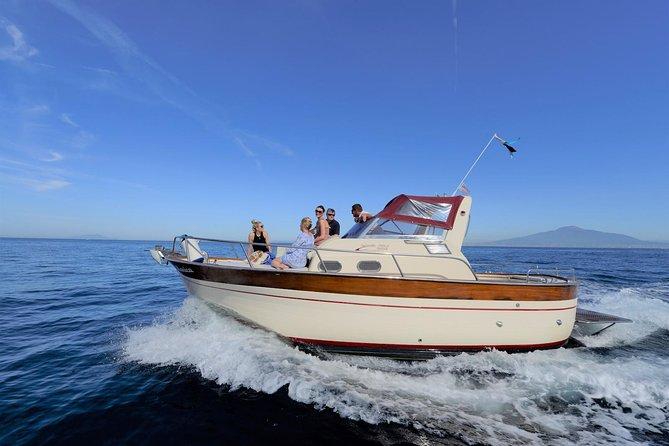 Capri Private Boat Tour from Sorrento, Positano or Naples - Gozzo Jeranto 750, Sorrento, ITALY