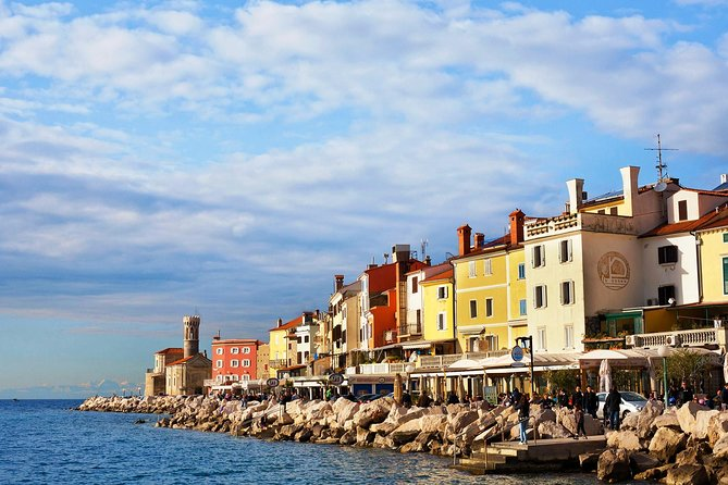 Visit Piran, the town of music, artists and seamen, and enjoy a panoramic trip along the Slovene coast.