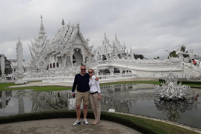 White Temple, Longneck and Sigha Park, Chiang Rai, Thailand