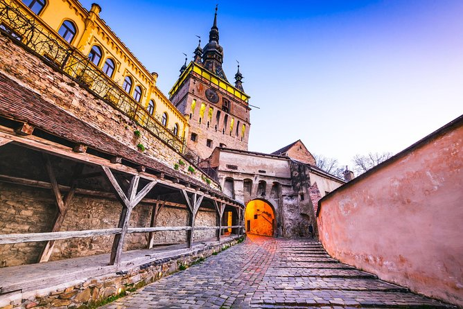 Sighisoara candlelight tour at Dracula's birth town -Outdoor experience, ,