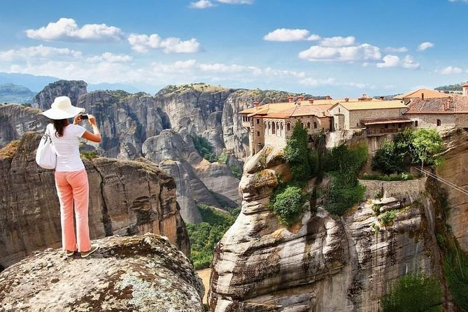 A highlight of your stay in Greece will be a visit to the famous Meteora Monasteries. Meteora is a geological miracle, which one should see for himself in order to believe.<br>Stunning monasteries stay nestled upon steep cliffs, offering a breathtaking spectacle. Nowadays, only six monasteries are well preserved and four of them are still inhabited.<br><br>We shall visit 2 of these fabulous monasteries, built high upon the steep rocks. Prepare to be amazed by the rich cultural heritage and amazing ecclesiastical artwork hidden within their walls. Each monastery owns a vast richness of frescoes and icons that will certainly amaze you. After exploring the monasteries, we will make our lunch break in Kalambaka before returning to your Halkidiki hotel.