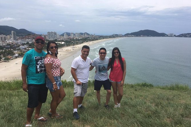 Tour de Playas en Santos, São Vicente y Guarujá desde São Paulo, Sao Paulo, BRASIL