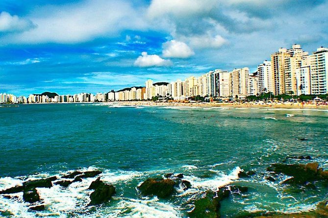 Located 70 km far from São Paulo, the cities of Santos, São Vicente and Guarujá invites you for this amazing tour with a lot of history in Santos Downtown and beautiful landscapes a long of the beaches. Come to enjoy a wonderfull day at the best beaches of São Paulo State.