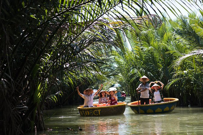 Vegetarian Cooking class, Cruise Trip and Basket Boat Riding, Hoi An, VIETNAM